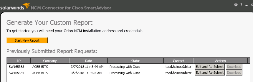 solved device import using solarwinds collecto cisco community