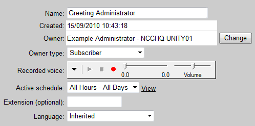 Solved: Unity 8 Call Handler Owners - Cisco Community