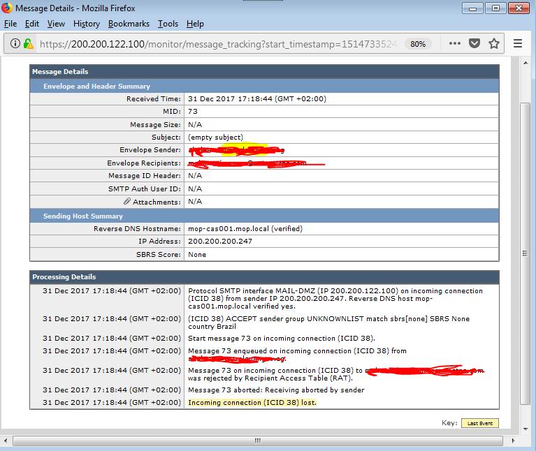 ESA C190 New Installation first time - Cisco Community