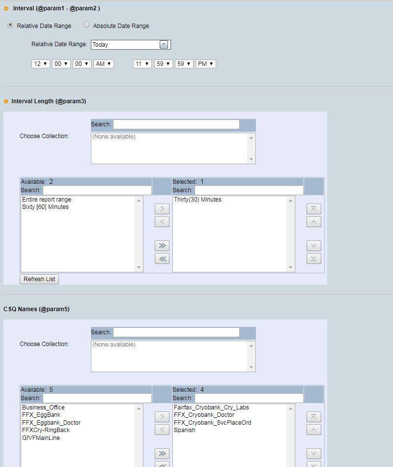 CUIC scheduler returns empty reports af    - Cisco Community