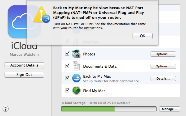 Setting Up UPnP for iCloud/Back to My M    - Cisco Community