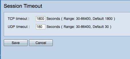 Solved: Value timeout UDP session RV320 - Cisco Community