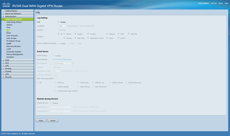 Cisco Rv345 Vpn License