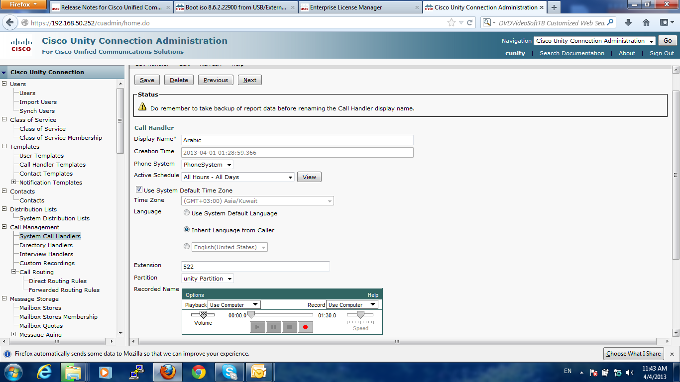 Solved: Java Version/Firefox version in unity c    - Cisco Community