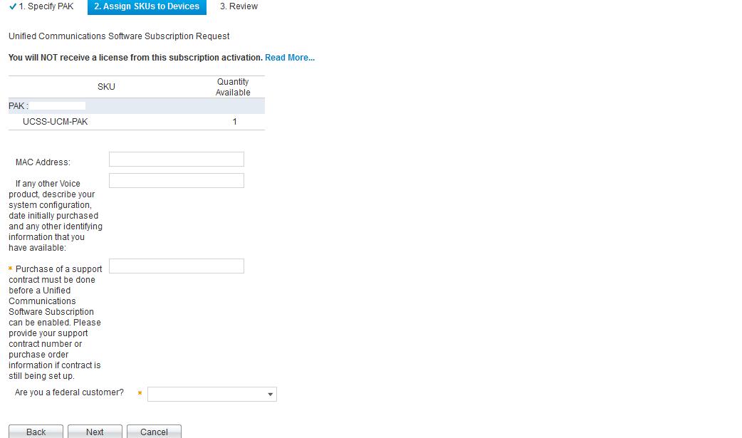 Solved: CUCM License - Cisco Community