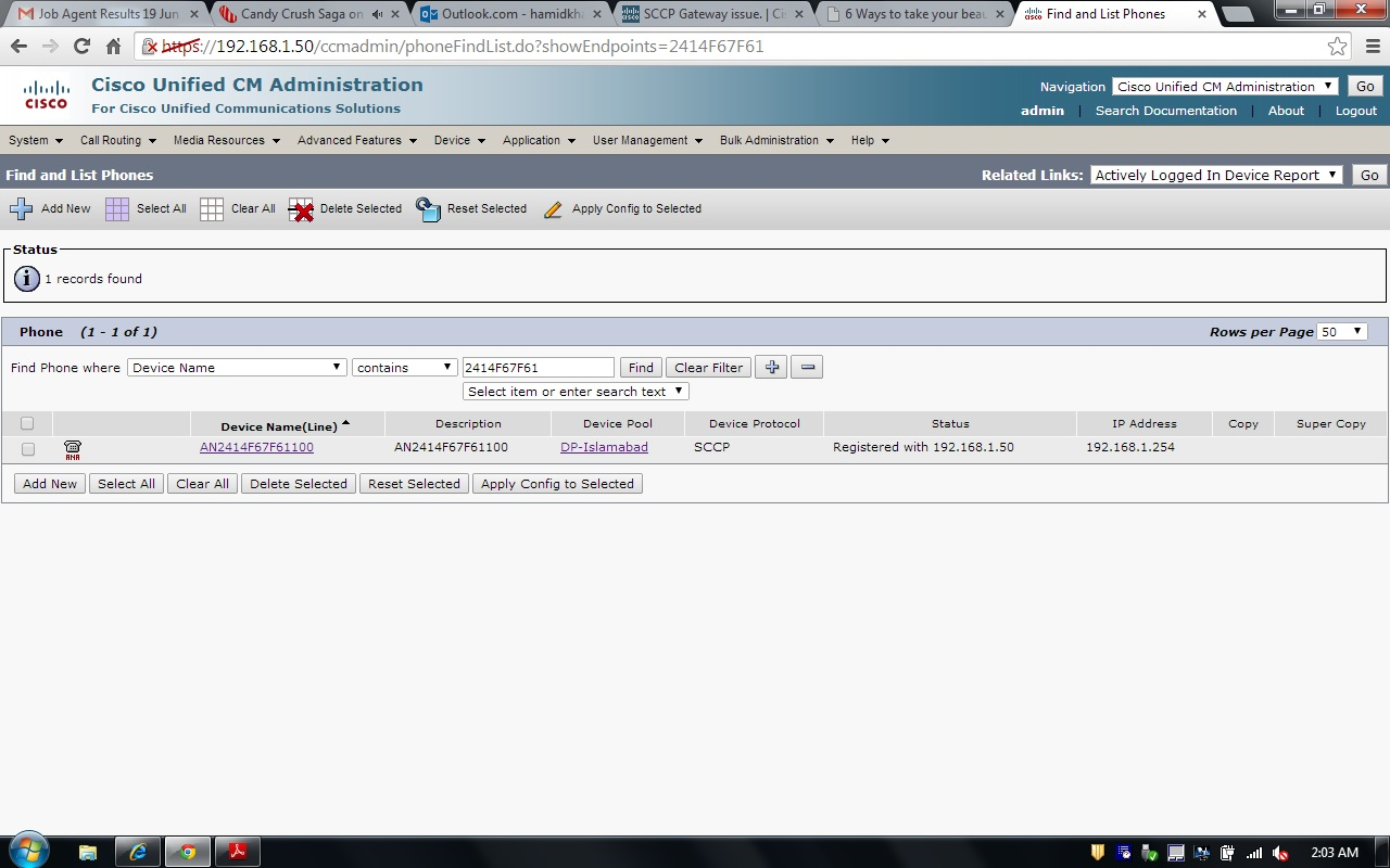 Solved: SCCP Gateway issue  - Cisco Community