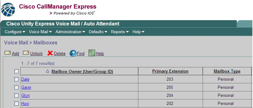 Cisco Unity Express License - xsonarmaps