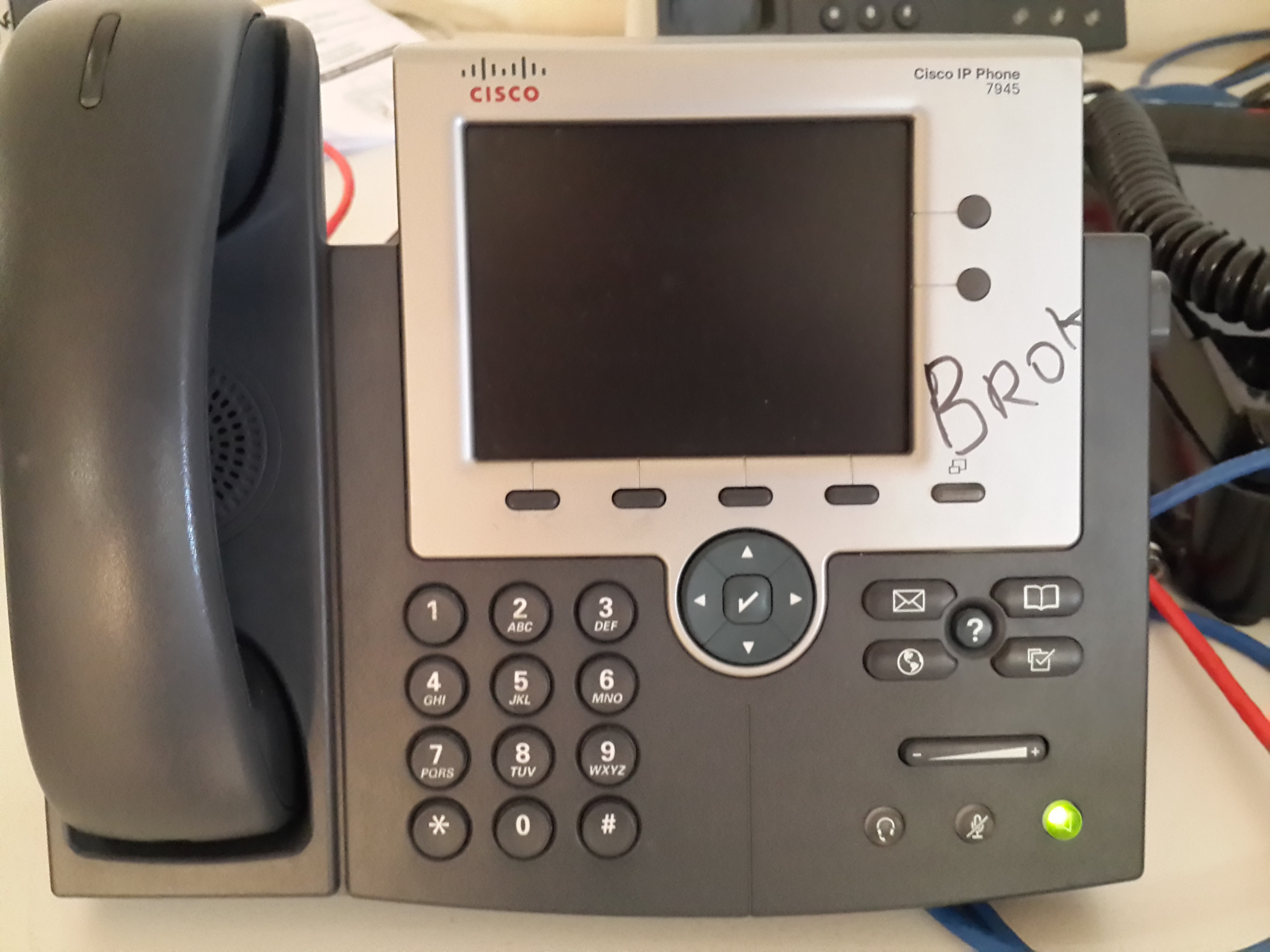 Cisco IP Phone 7945 problem - Cisco Community