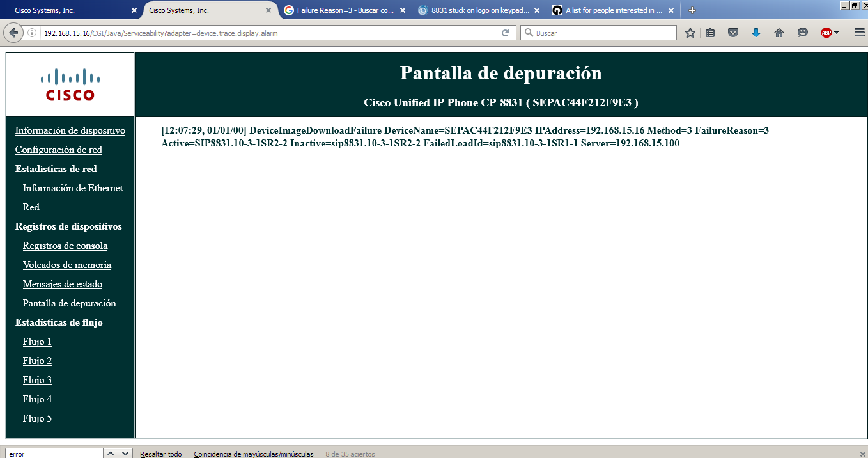 Cisco 8831 not registered on a PBX aste    - Cisco Community