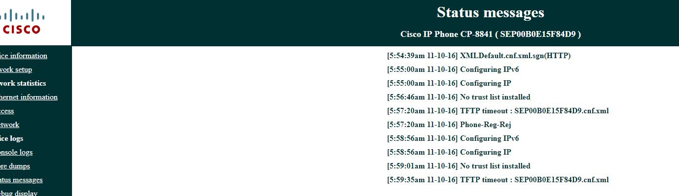 Using 8841 K9 phone on an Asterisk serv    - Cisco Community