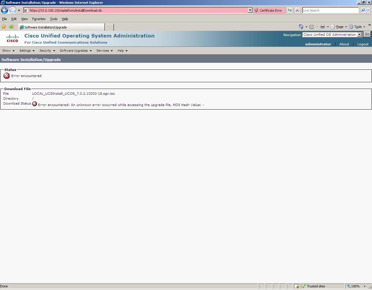Solved: CUCM upgrade to 7 0 2 - Cisco Community