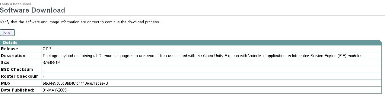 Cisco Unity Express Install Language Pack - xilusram