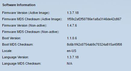 sg300 firmware update illegal software format