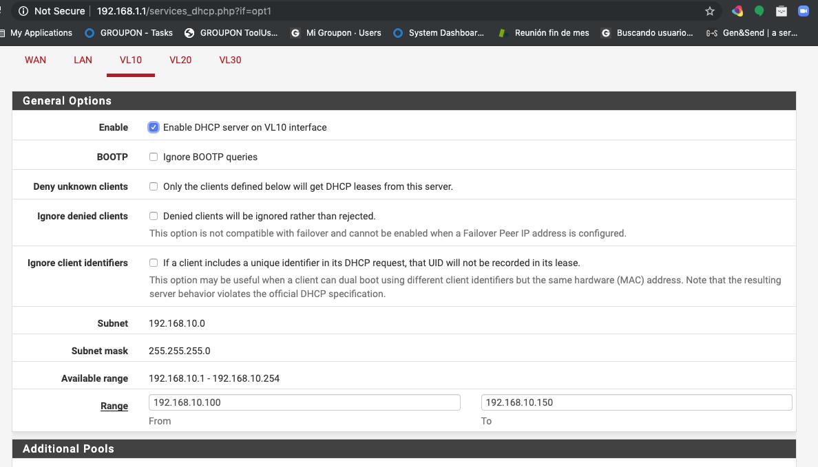 Solved: SG220-26 VLANS PFSense - Cisco Community