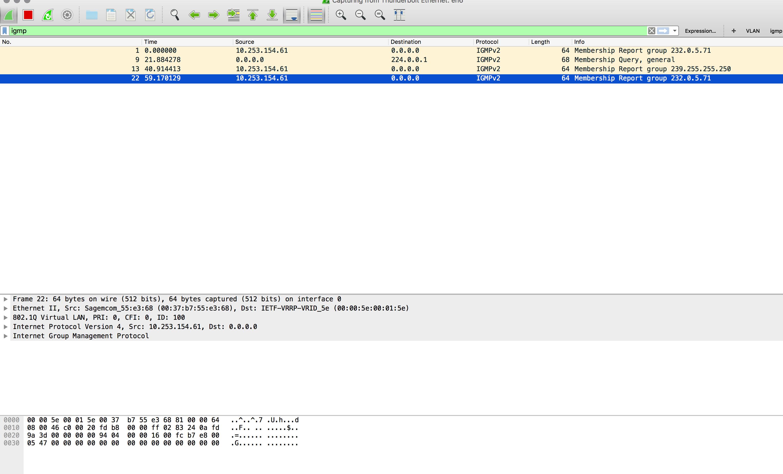 IGMP Report issue destination is 0 0 0     - Cisco Community