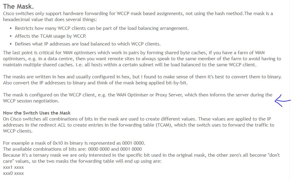 Load Balancing with WCCP - Cisco Community