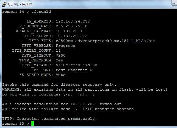 cisco 2811 router unable to copy ios im    - Cisco Community