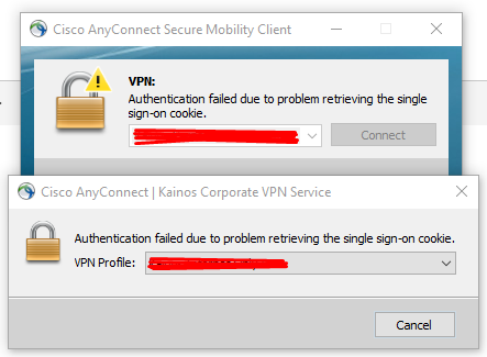 Solved: Cisco AnyConnect with Azure Single Sign    - Cisco Community