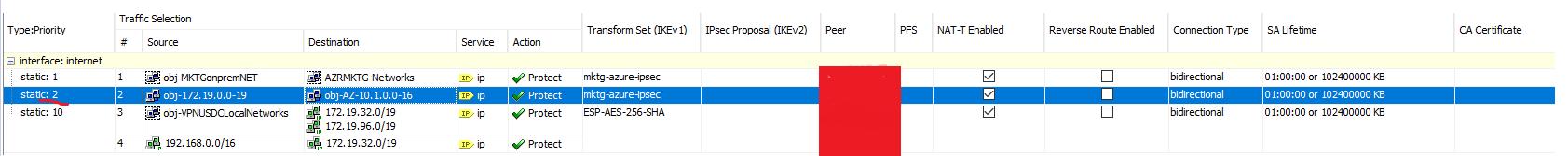 Solved: New ASA to Azure site-to-site VPN faili    - Cisco