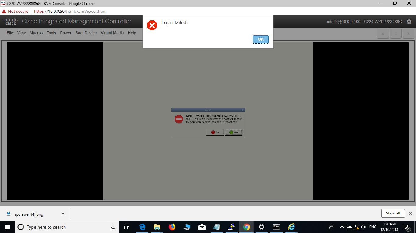UCS C240M3 - HUU v  3 0 1c not loading     - Cisco Community