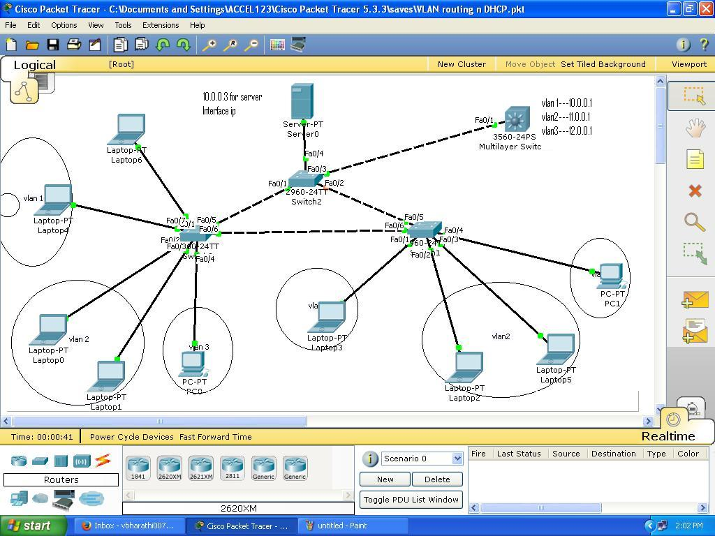 Inter vlan routing with l3 switch sep cisco support for Cisco show pool dhcp