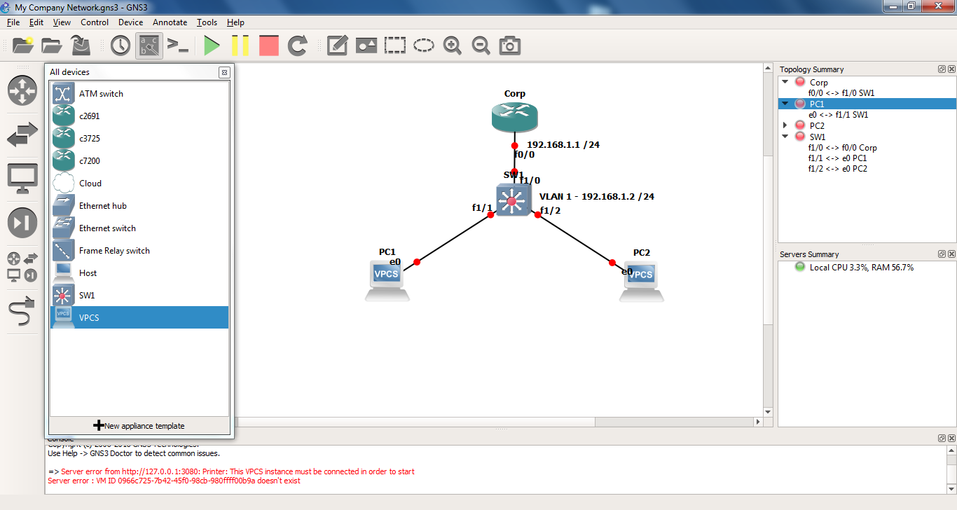 Solved: DHCP Host Problem - Cisco Community