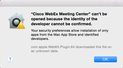 Solved: Jabber for Mac- Cisco WebEx Meeting Cen    - Cisco Community