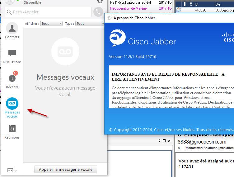 Jabber voicemail notifications - Cisco Community