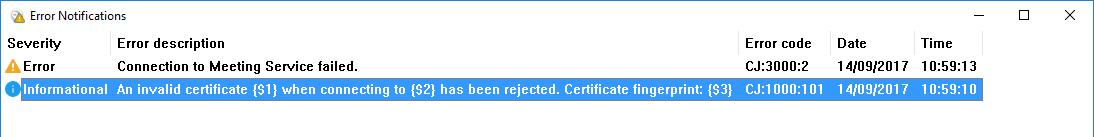 Jabber Invalid Certificate (Information... - Cisco Community