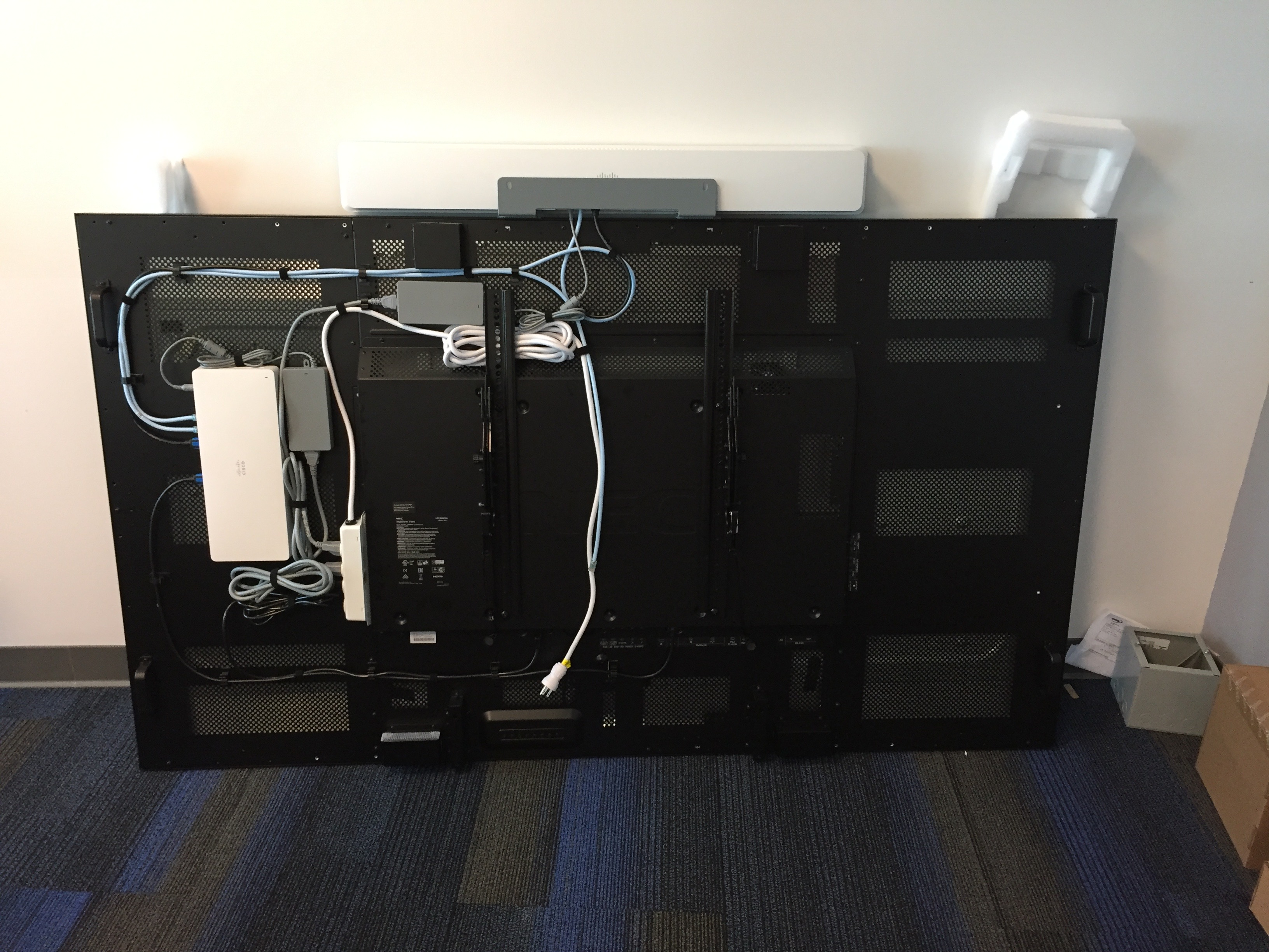 10 1430 Cisco Room Kit Plus Wall Mount Cisco Spark Codec