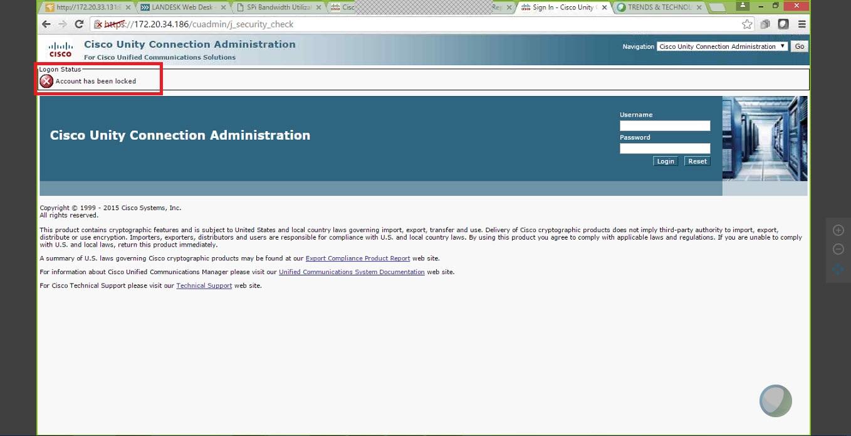 CUC Web application user locked every m    - Cisco Community
