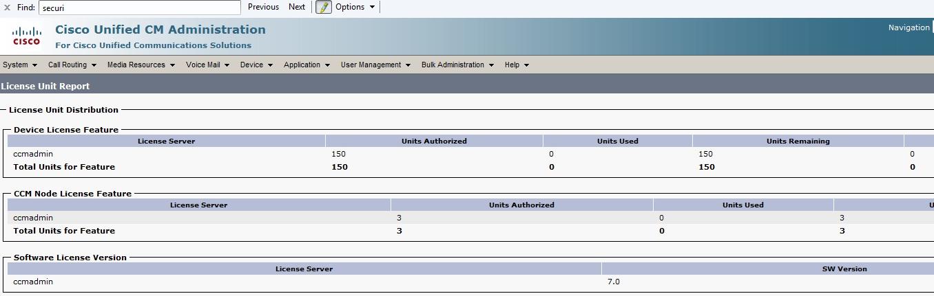 CUCM 7 - Activate Demo Licenses - Cisco Community