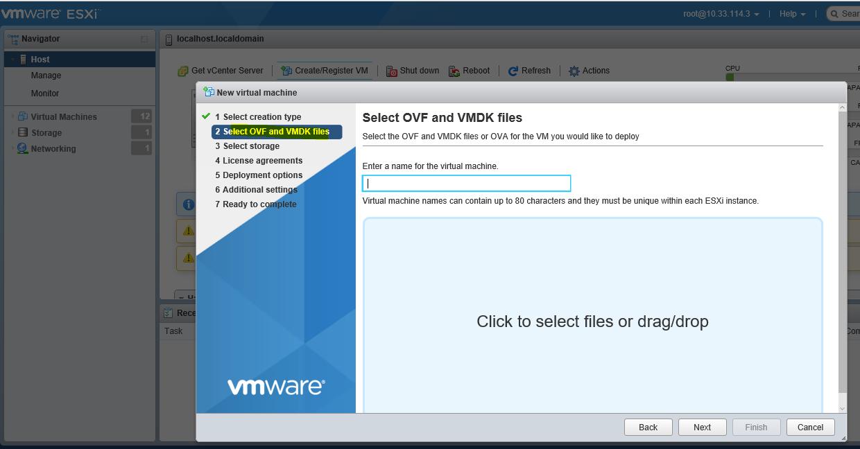 Solved: VMWare 6 5 OVA deployment options - Cisco Community
