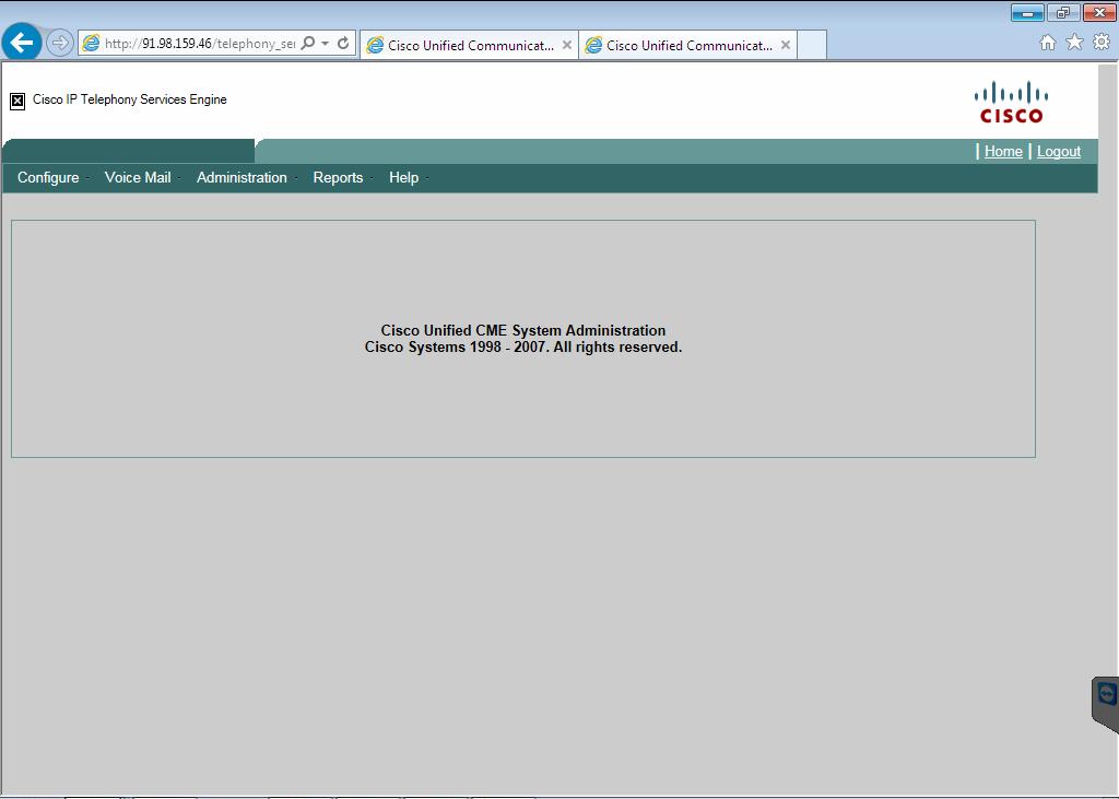 CME web interface GUI loading problems,    - Cisco Community