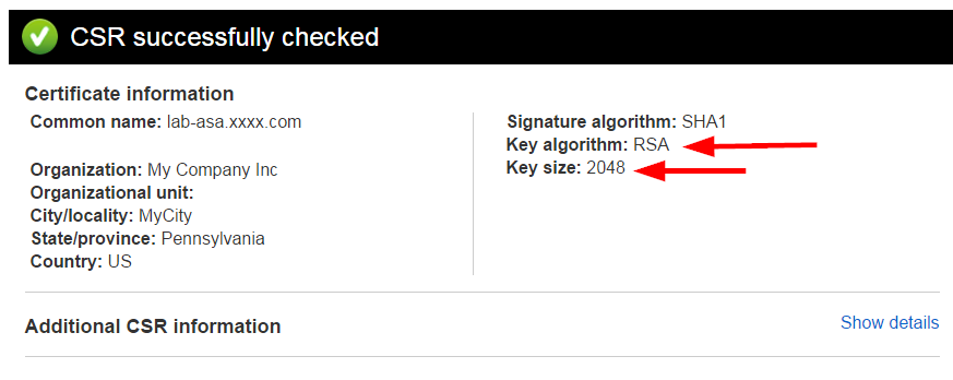 Creating a SHA-2 Certificate Signing Re    - Cisco Community