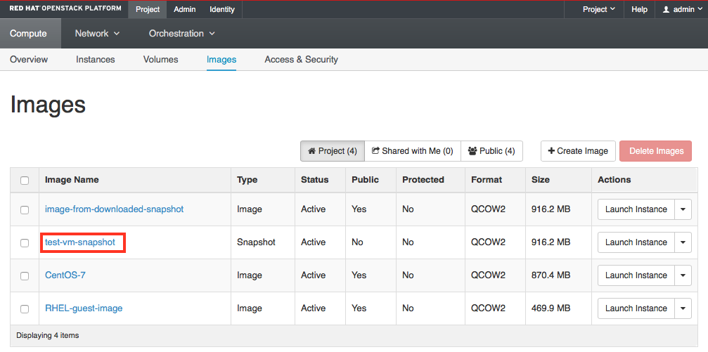 How to snapshot an OpenStack nova insta    - Cisco Community