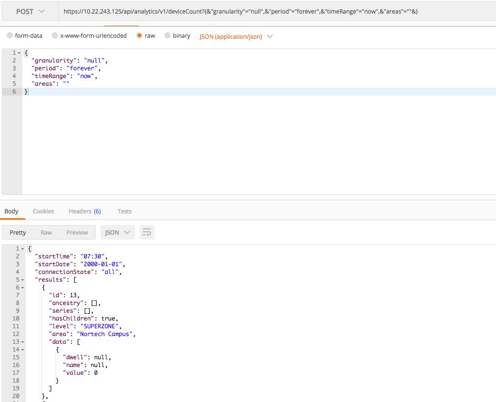Solved: API example - Cisco Community