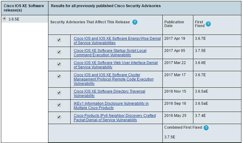 Cisco PSIRT openVuln API and Cisco IOS     - Cisco Community