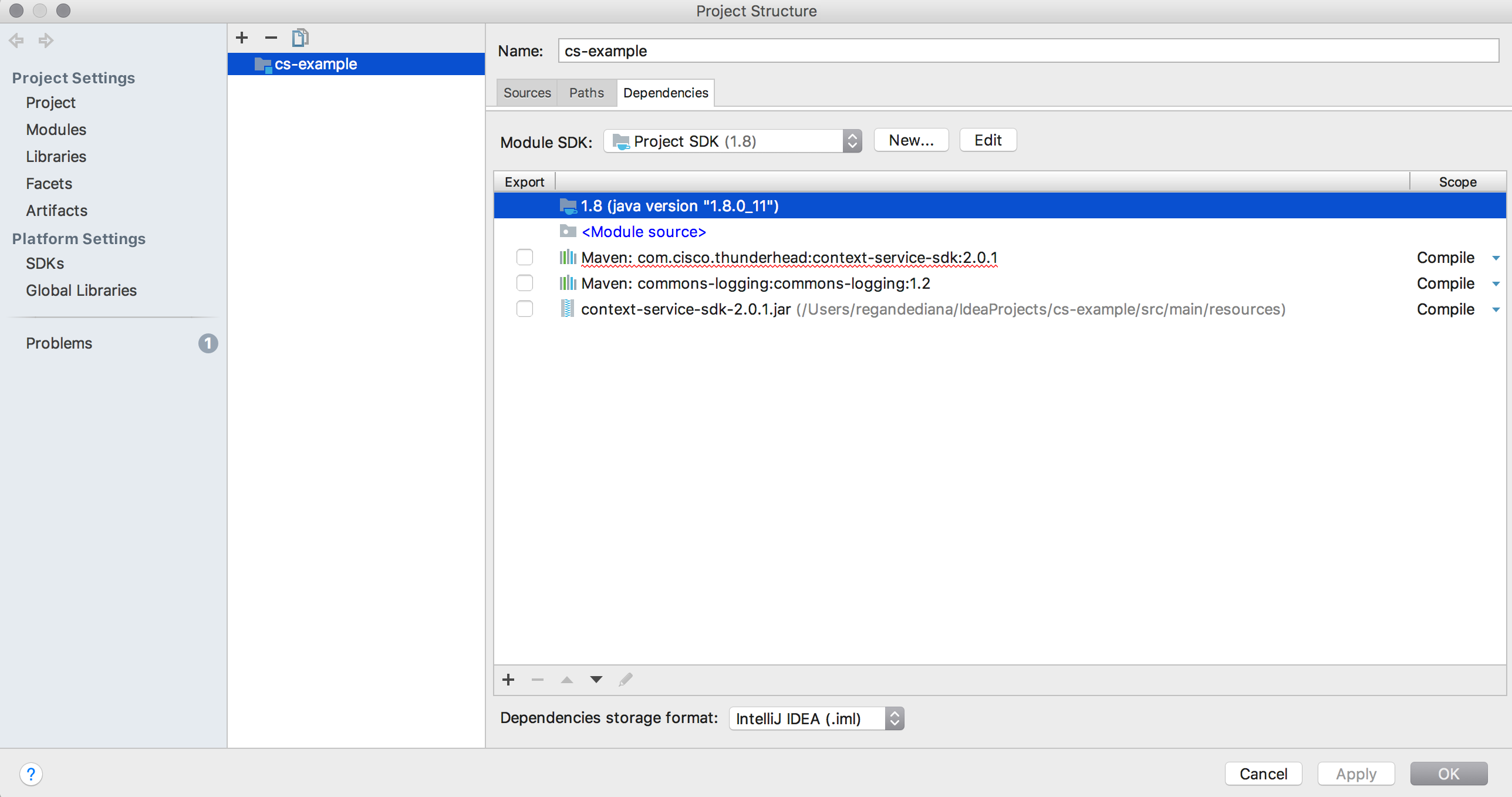 Solved: intelliJ/Maven CS SDK Dependency Errors - Cisco
