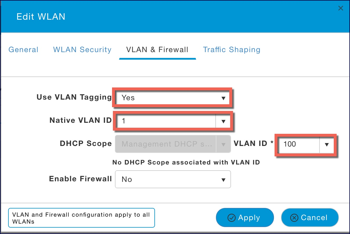 Multiple SSIDs and VLANs on 1832i with     - Cisco Community