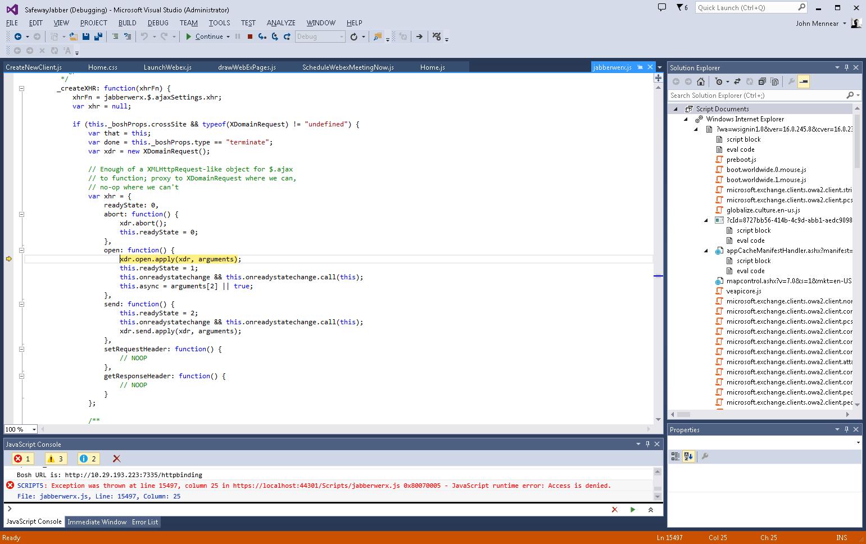 jabberwerx js running on IE 11 - Cisco Community
