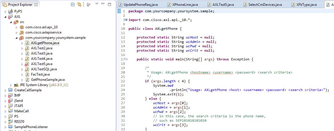 Solved: demo java error for CUCM 10 - Cisco Community