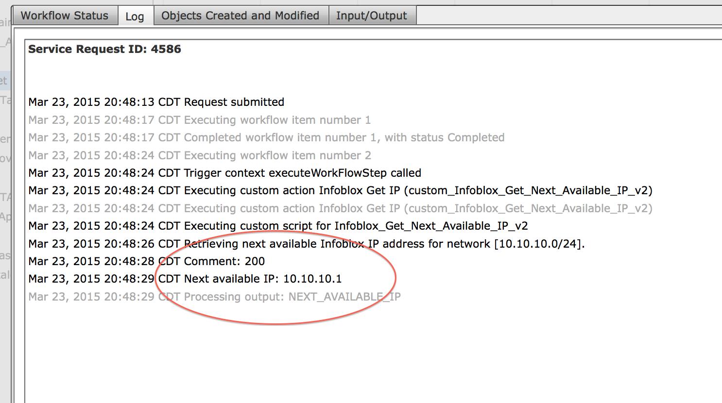 Infoblox Integration  (via custom tasks    - Cisco Community