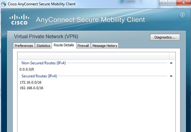 Sandbox VPN Access: Lose Local LAN acce    - Cisco Community