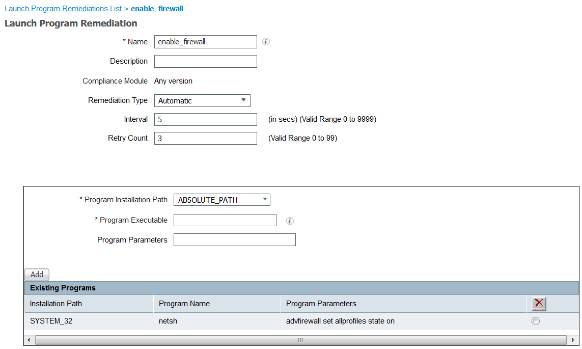 Solved: windows 10 posture remediation with adm    - Cisco