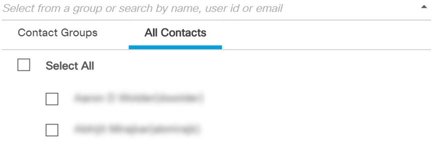 Create a List of Contacts for easy refe    - Cisco Community