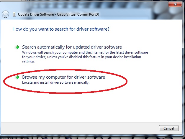 Cisco USB Console Driver (Not Working) for Windows 7/8/10