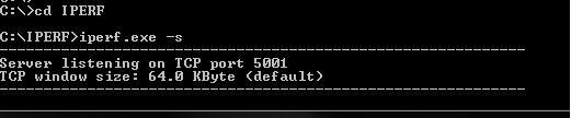 IPERF Test for measuring the throughput    - Cisco Community
