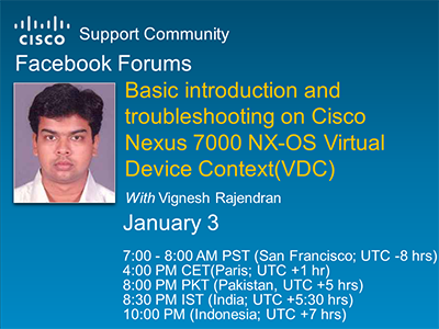 Facebook Forum: Basic introduction and troubleshooting on Cisco ...