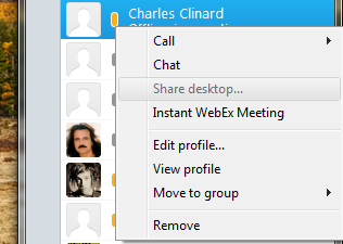 Share Desktop greyed out - Cisco Community